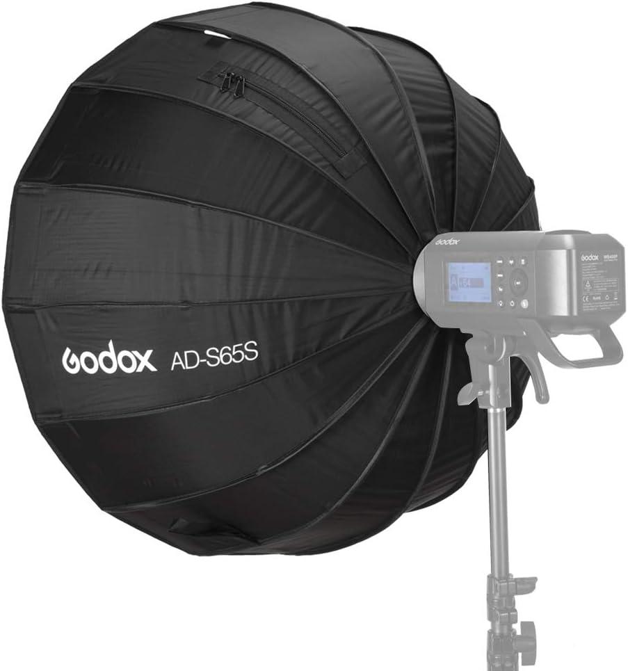 33,46 Zoll GODOX Mount Softboxes Dom mit Wabengitter spezielles Zubeh/ör f/ür Godox AD400Pro