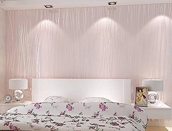 Bloss 3d Modern Wallpaper Roll Pink Background For Living Room U0026 Bedroom  Home Decor