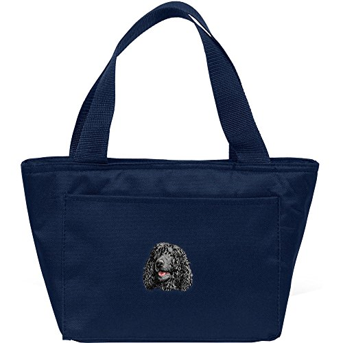 Cherrybrook Dog Breed Embroidered Cooler Bags - Navy - Irish Water Spaniel