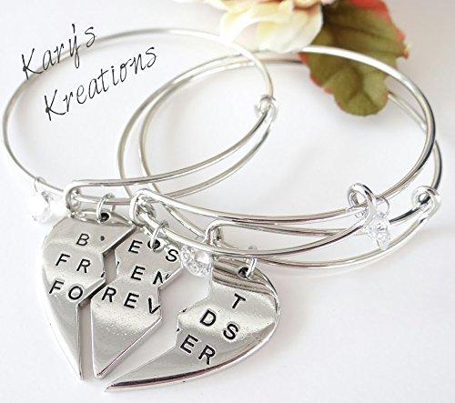 Amazon Com 3 In 1 Best Friend S Bracelet Best Friends Bracelets