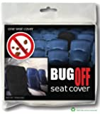 BugOff Bed Bug Seat Cover / Protector - Black