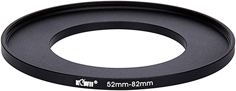 Kiwifotos SU 52-82MM 52mm-82mm Step-up Adapter Ring for Lenses 52mm Lens to 82mm Filter, Hood, Lens Converter and Other Accessories