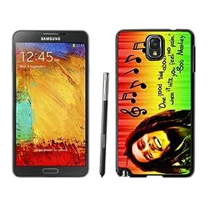 Beautiful Designed Case With Bob Marley 01 Black For Samsung Galaxy Note 3 N900A N900V N900P N900T Phone Case