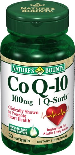 Bounty CoQ Nature 10, 100 mg, 30 gélules