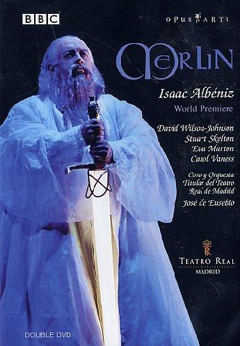 Isaac Albeniz - Merlin / Wilson-Johnson, Skelton, Marton, Vaness, Odena, Eusebio (Teatro Real Madrid 2004) (Johnson Art Lighting)