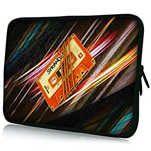 "AES - PU Leather 7""/10""/13"" Laptop Sleeve Case for MacBook Air Pro/Ipad Mini/Galaxy Tab2/Sony/Google Nexus 18078 , 10"""