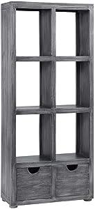 Progressive Furniture Oaklyn Bookcase, Gray