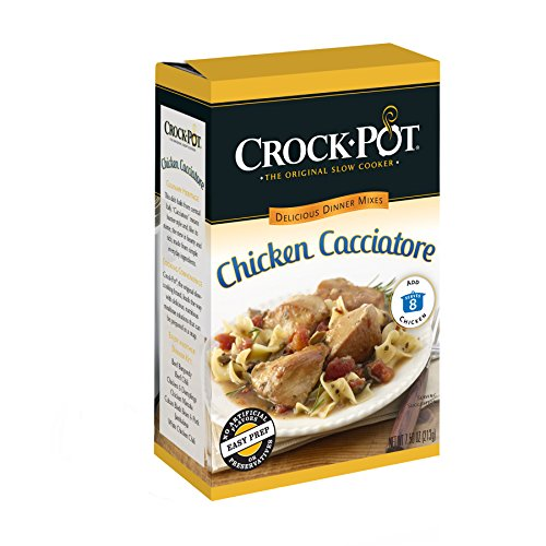 Crock-Pot Delicious Dinners Chicken Cacciatore, 7.50-Ounce