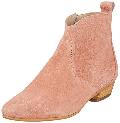 Marc O'Polo Women's Flat Heel Bootie 80114076001300 Slouch Boots Red (Rose 305) c0f5vv9WL