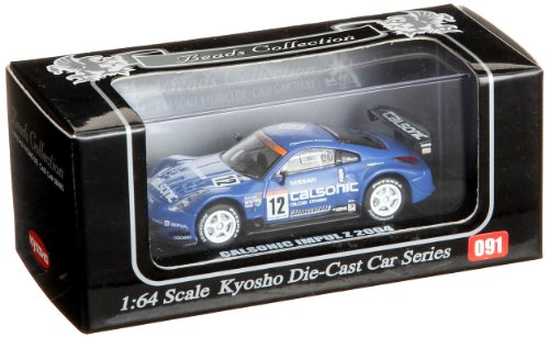 1/64 Beads Collection Nissan Fairlady Z JGTC 2004 Calsonic No.12 K06008A (japan import)