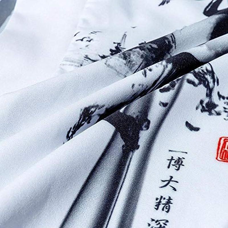 Kimono Cardigan męski haori kimonos karate samurajski kostium kimono japoński tradycyjny japoński strÓj męski Yukata, styl 5, medium: Küche & Haushalt