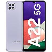 Samsung Galaxy A22 5G – Smartphone libre con 6.6 Pulgadas 128GB y Sistema Operativo Android Violeta Versión ES