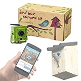 Green Feathers WiFi Bird Box Camera - HD with IR, MicroSD Recording