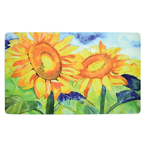Sunflowers 18 x 30 Inch Soft Touch Kitchen - Shopping Goes Gigi