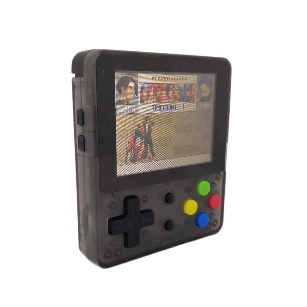 Solovley Handheld Game Console Kids Adults, LDK Game Screen by 2.6 Thumbs Mini Palm Pilot Nostalgia Console Children Retro Console Mini Family TV Video (Black) by Solovely (Image #3)