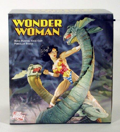 Wonder Woman & Serpents Mini Statue Designed by Adam Hughes by DC Comics