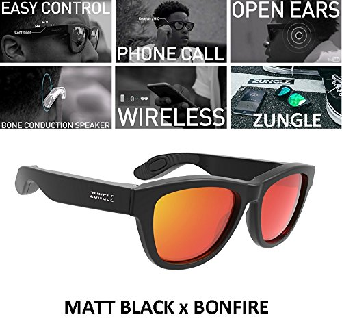 Zungle Bluetooth Headphones Sunglasses With Built In Bone Conduction Speakers - Sunglasses Headphones Zungle