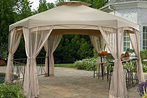 (Garden Oasis Replacement Canopy for Clayton Hexagon Gazebo SS-I-138-2NGZ )