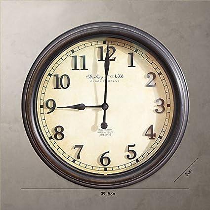 HUANGYAHUI Despertador Reloj De Pared Del Salón Dormitorio Sala Plantilla Inicio Reloj Digital, 16 Pulgadas
