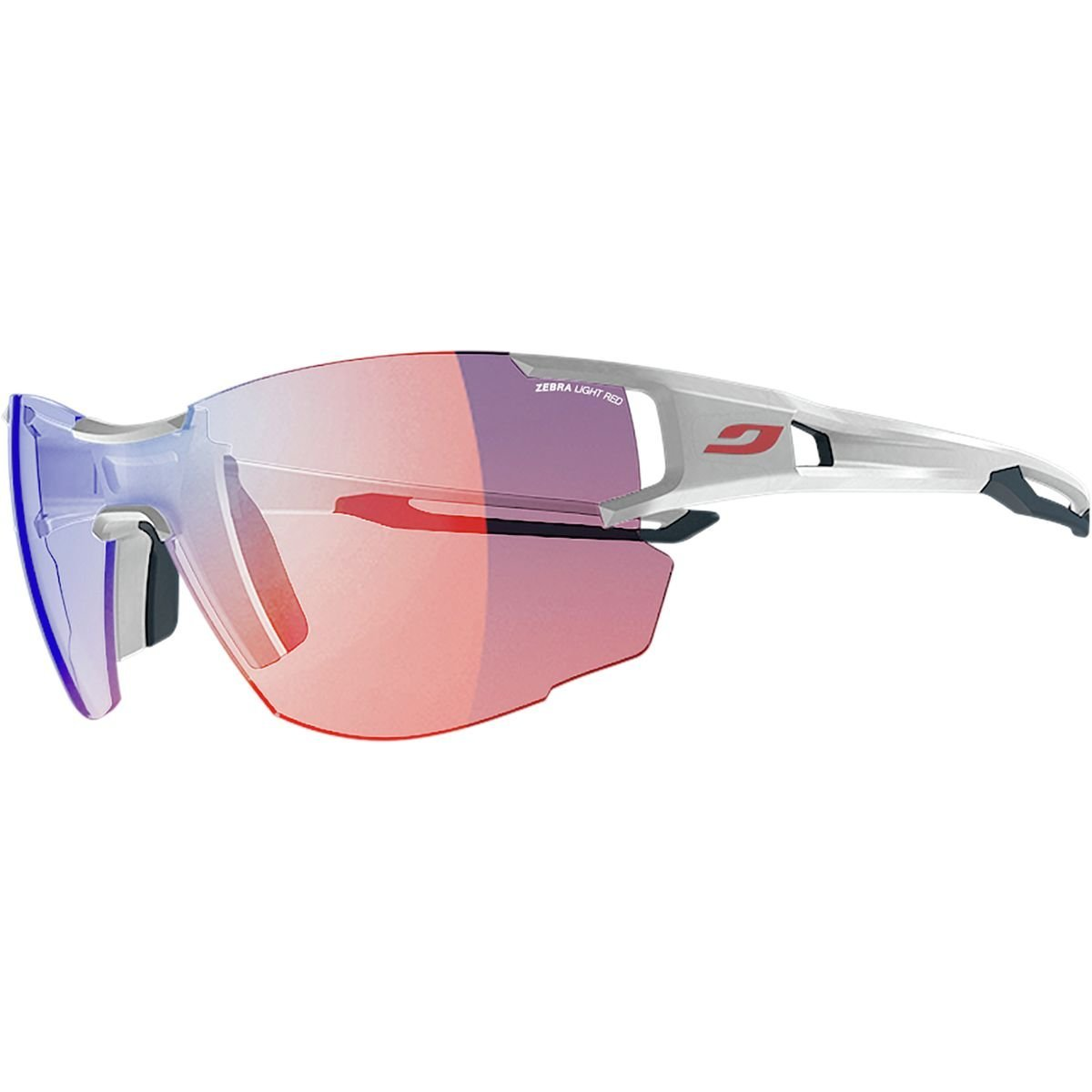 Julbo Aerolite Sunglasses (White/ Blue)