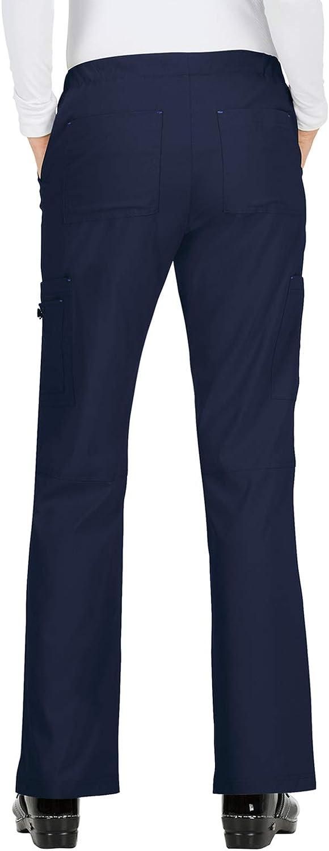 KOI Basics 8-Pocket Mid-Rise Straight Leg Holly Cargo Scrub Pant for Women