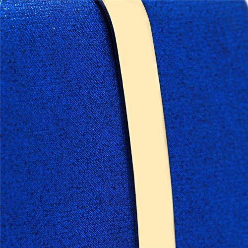 Simplicidad Embragues Fiestas Bodas De Size Adecuado Las Compras Negro Nupcial Free Cóctel Color Mujeres Ir Monedero Embrague Elegante Azul Bolsos Tamaño Bolso Para awIXxqZSCC