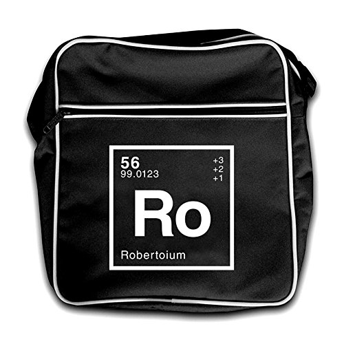 Flight Roberto Dressdown Bag Retro Periodic Element Black Red R718qw
