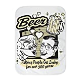 Truly Teague Baby Blanket White Beer: Helping People Get Lucky