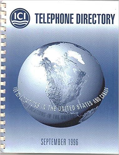 ICI Americas Inc, Wilmington DE, 1996 Company Internal Phone