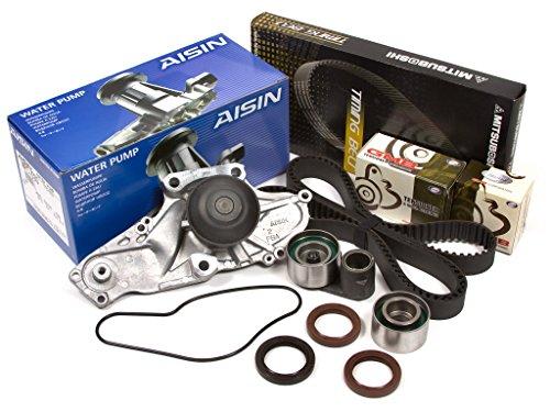 Evergreen TBK286MWPA 97-03 Acura TL CL Honda Odyssey Accord J30A J32A J35A Timing Belt Kit AISIN Water Pump (2000 Belt Odyssey Timing)