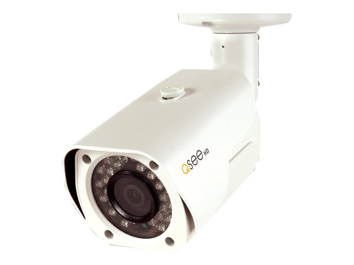 Q-See QCN8026B 4MP High Definition IP Bullet Security Camera (White)