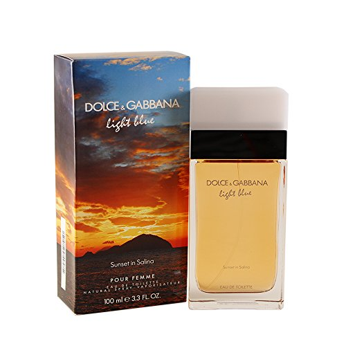 Perfume Light Blue Freesia (Dolce & Gabbana Light Blue Sunset in Salina Eau de Toilette, 3.3 Fluid Ounce)
