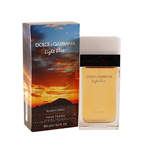 D & G Light Blue Sunset In Salina /D & G Edt Spray 3.3 Oz