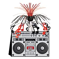 Boom Box Centerpiece Party Accesorio (1 cuenta) (1 /Pkg)