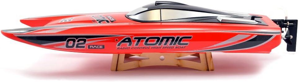 Red Volantex V792-4R RC Boat