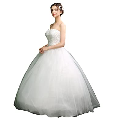 ZUOYITING 2023 Plus Size Fansmile Korean High Ball Gown Quality Wedding Dresses Bridal Alibaba Lace