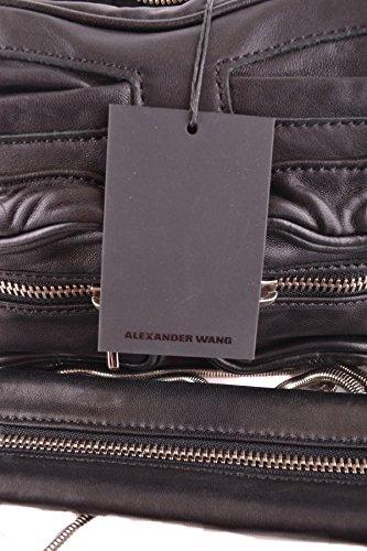 Alexander Wang Mujer MCBI335026O Negro Cuero Bolso De Hombro