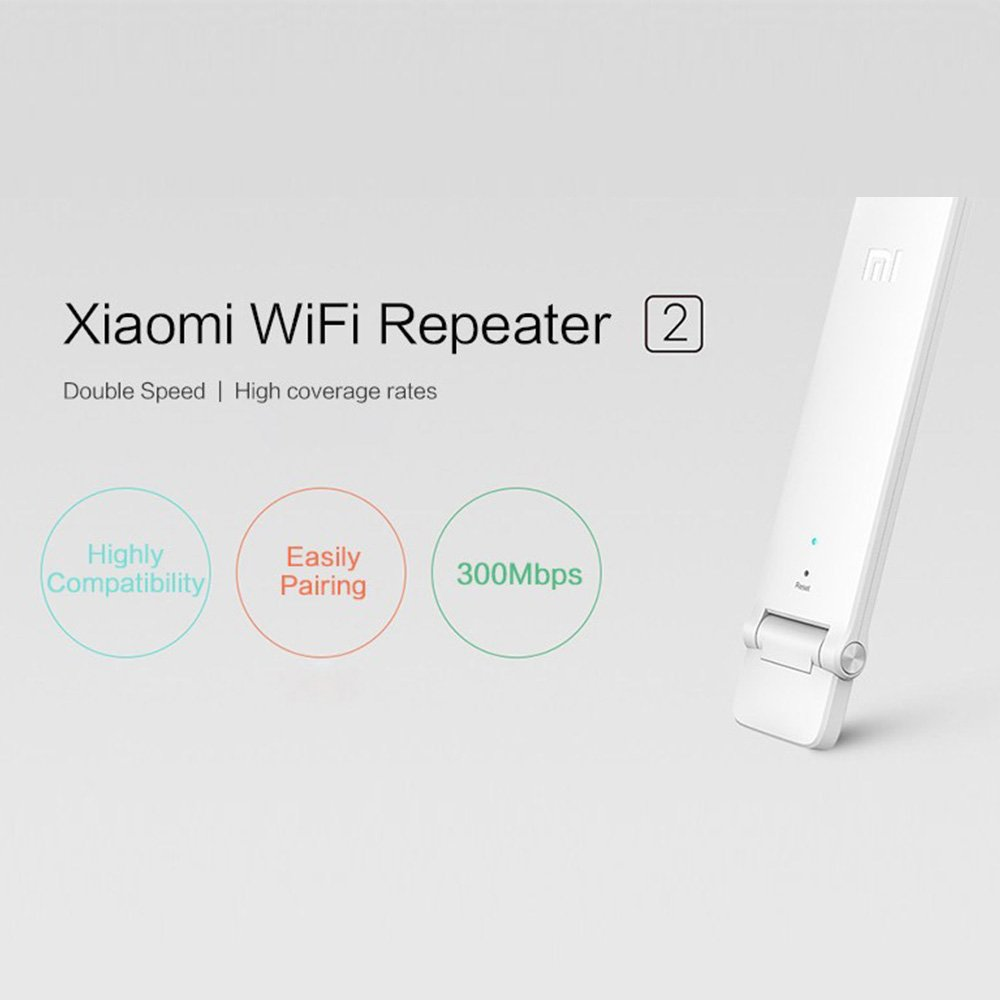 Amazon.com: Xiaomi Mi WIFI Repeater 2 Network Repeaters Amplifier Extender 2 Signal Boosters WiFi Wireless Universal Router Xiaomi Mijia Smart: Computers & ...