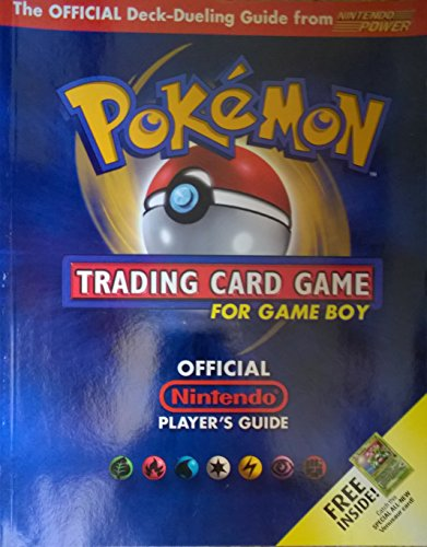 Pokemon Trading Card Game for Game Boy Official Nintendo Player's Guide from Nintendo Power (Trading Book Game Pokemon Card)