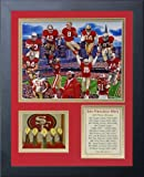 Legends Never Die San Francisco 49ers Greats Framed Photo Collage, 11x14-Inch