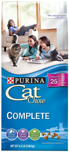 Purina Cat Chow, 6.3-Pound, My Pet Supplies