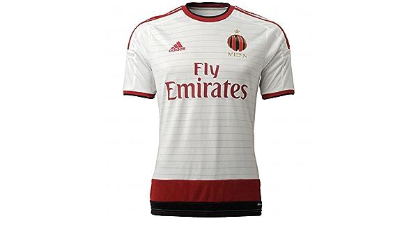 Amazon.com: Adidas Mens Climacool Ac Milan 2014/2015 S/S Away ...