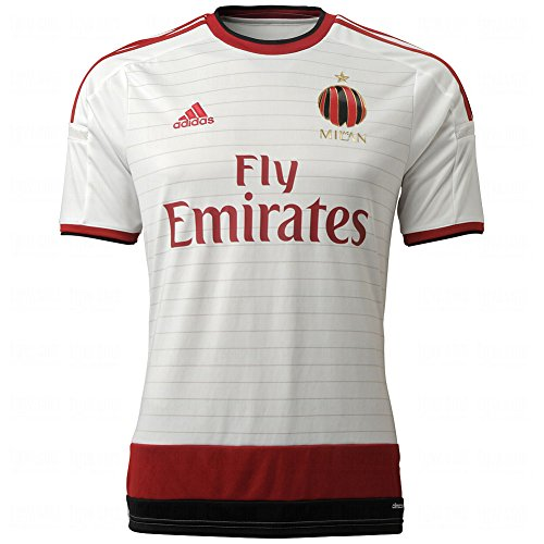 Adidas AC Milan Replica Away Player Mens Soccer Jersey M Core White