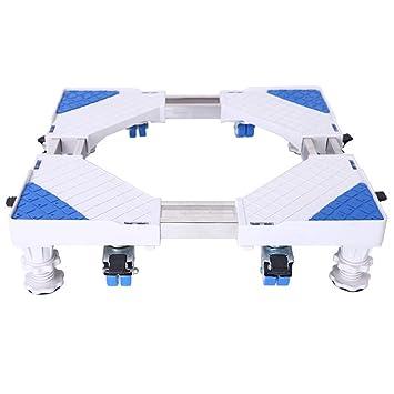Base Para Nevera Y Lavadora Carretilla Ajustable Móvil Multifuncional 360 ° Gire Con 8 × 2