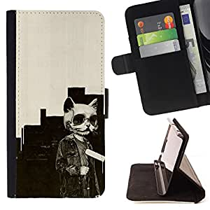 - Panda Cute Face - - Flip Wallet Leather Magnetic Closure Cover Skin Case FOR Apple iPhone 6 6S Plus 5.5 Justin City