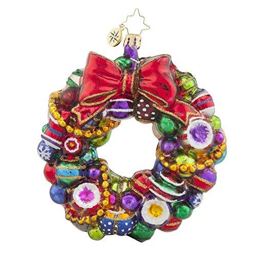 Christopher Radko Joyful Wreath Christmas Ornament from Christopher Radko