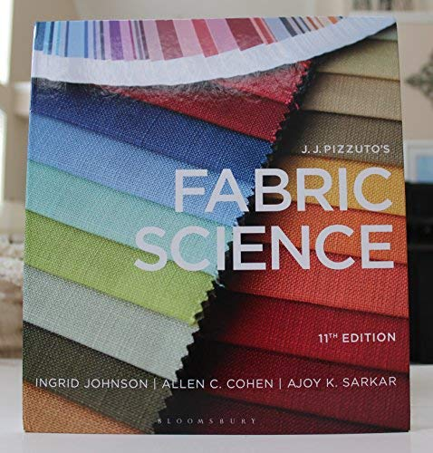 Price comparison product image J. J. Pizzuto's Fabric Science