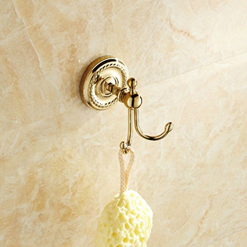 good linked to the continental/Solid link/Coat hook/Bathroom hook/Linked to the wall behind the door-B