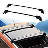 Lockable Cross Bar for Hyundai Santa Fe Sport 2013-2017 Roof Rack Rail Silver