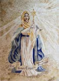 Our Lady of the Blessed Sacrament Religious Icon Marble Mosaic Hand Made